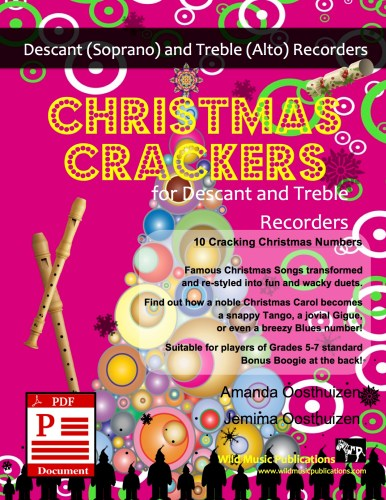 Christmas Crackers for Descant and Treble Recorders Download