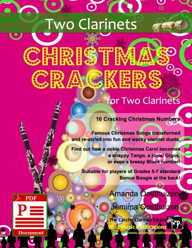 Christmas Crackers for Two Clarinets Download