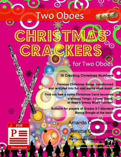 Christmas Crackers for Two Oboes Download