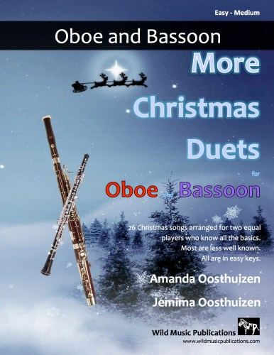 More Christmas Duets for Oboe and Bassoon