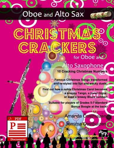 Christmas Crackers for Oboe and Alto Saxophone Download