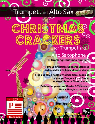 Christmas Crackers for Trumpet and Alto Saxophone Download