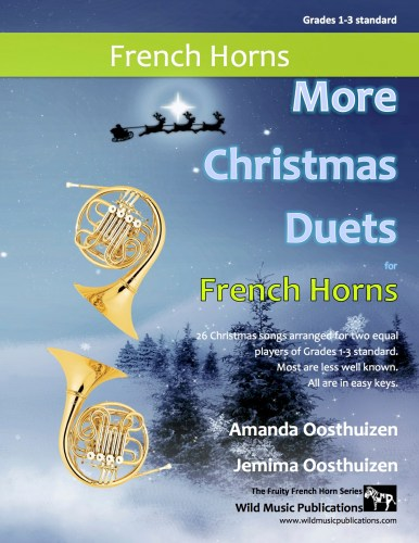 More Christmas Duets for French Horns