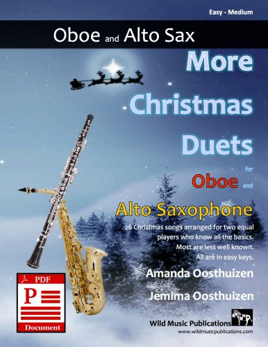 More Christmas Duets for Oboe and Alto Saxophone Download