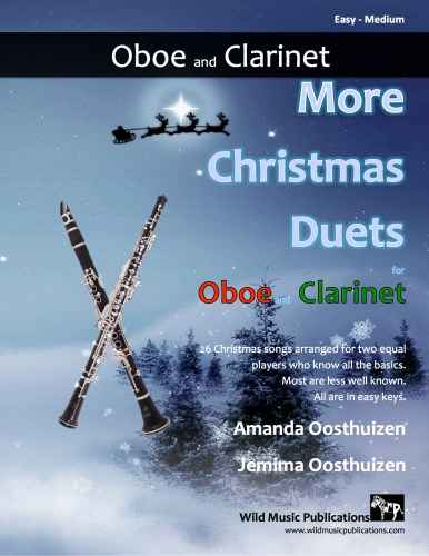 More Christmas Duets for Oboe and Clarinet