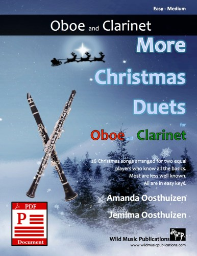 More Christmas Duets for Oboe and Clarinet Download