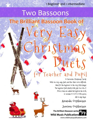 The Brilliant Bassoon Book of Very Easy Christmas Duets for Teacher and Pupil