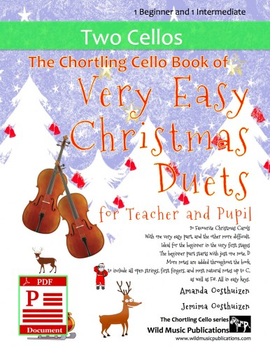 The Chortling Cello Book of Very Easy Christmas Duets for Teacher and Pupil Download