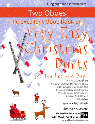 The Excellent Oboe Book of Very Easy Christmas Duets for Teacher and Pupil