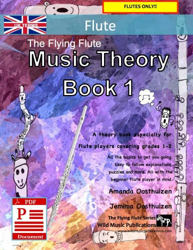 The Flying Flute Music Theory Book 1 - UK Terms Download