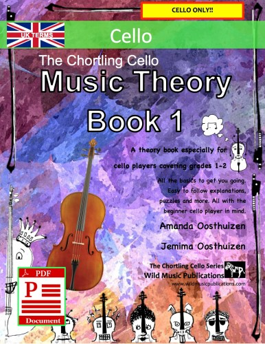 The Chortling Cello Music Theory Book 1 - UK Terms Download