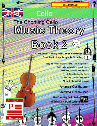 The Chortling Cello Music Theory Book 2 - UK Terms Download