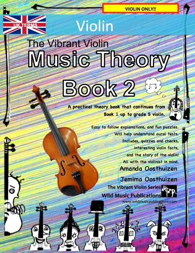 The Vibrant Violin Music Theory Book 2 - UK Terms