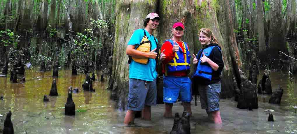 The Champion Cypress Kayak Adventure