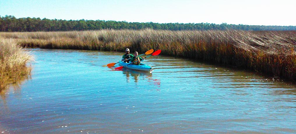 The Bon Secour National Wildlife Refuge Kayak Tour