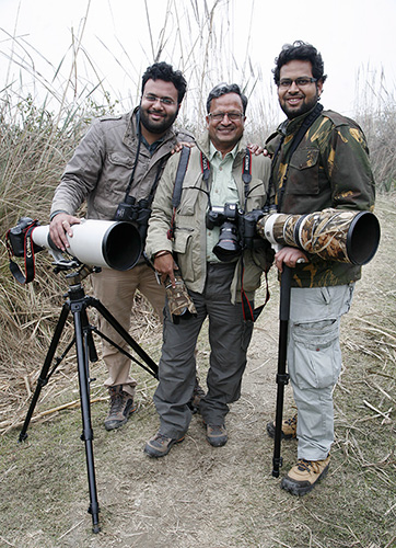 Wildlife Photographers India Bharat, Ankit and Vinod Goel