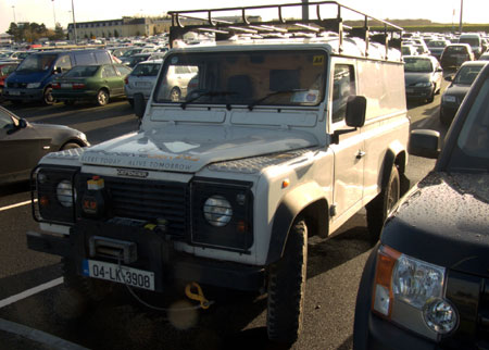 Irish Land Rover Defender