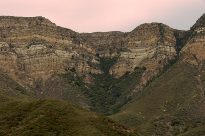 Topa Topa from Sisar Canyon
