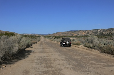 Quatal Canyon Road is Smooth and Wide