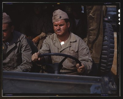 WWII Truck Driver