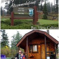 Washington's State Park Accommodations: Inside our Bay View State Park Cabin