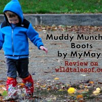 Keepng Feet Warm, Dry and Supported: Muddy Munchkin Boots by MyMayu Review