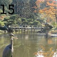 15 Western Washington Farms, Parks + Hikes to Enjoy this Fall