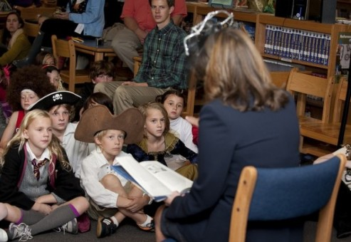 Crissy Haslam to Host Story Time Tomorrow