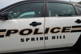 Shots Fired this Morning at Spring Hill Residence