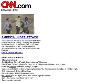 cnn home page, no time give