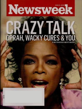 Oprah on Newsweek Cover June 8 2009