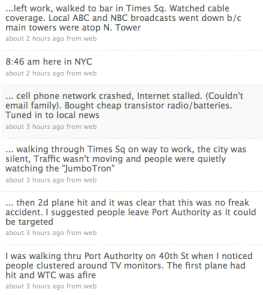 Tim Karr's tweets about 911