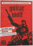 Live Review: Guitar Wolf at Meow, Wellington