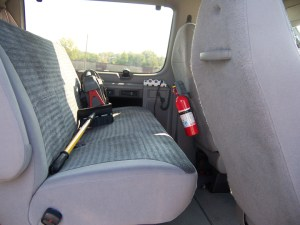 Bug Out Van: Front Bench Seat