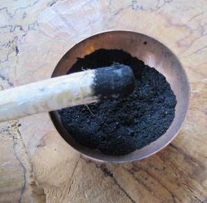 Crush Charcoal Into Fine Powder