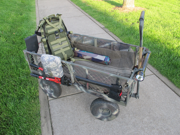 Bug Out Cart : Bugging out with children the last ditch bug concept