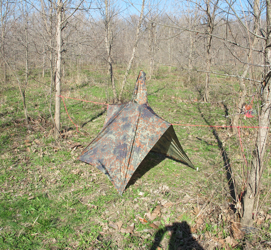 ghost-man-angle & 9 Different Military Poncho Survival Shelter Configurations u2013