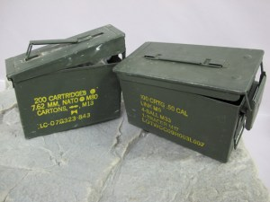 Surplus Military Ammo Cans - 2 Sizes