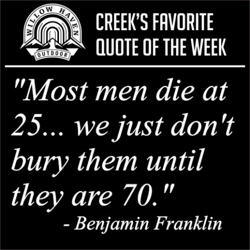 Weekly Quotes | Creek S Favorite Quotes