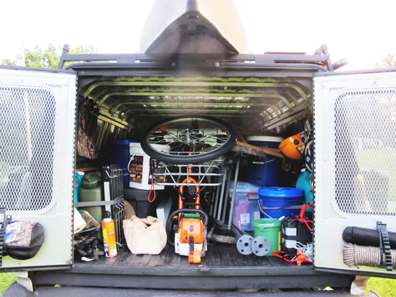 creek-stewart-inside-bug-out-truck