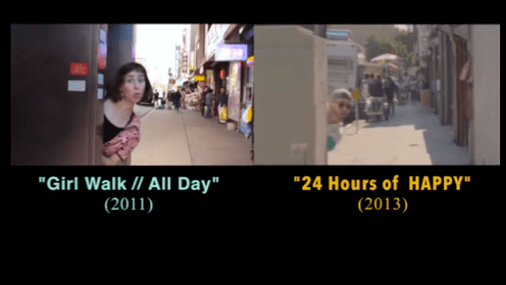 24 hours of Happy stole her video