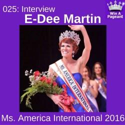 EDeeMartin Interview