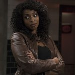 "Supernatural -- ""Alpha and Omega"" -- SN1123a_0016.jpg -- Pictured: Lisa Berry as Billie -- Photo: Katie Yu/The CW -- © 2016 The CW Network, LLC. All Rights Reserved"