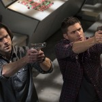 "Supernatural -- ""Alpha and Omega"" -- SN1123a_0157.jpg -- Pictured (L-R): Jared Padalecki as Sam and Jensen Ackles as Dean -- Photo: Katie Yu/The CW -- © 2016 The CW Network, LLC. All Rights Reserved"