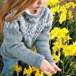 Huron Sweater  – Adapting it for a child
