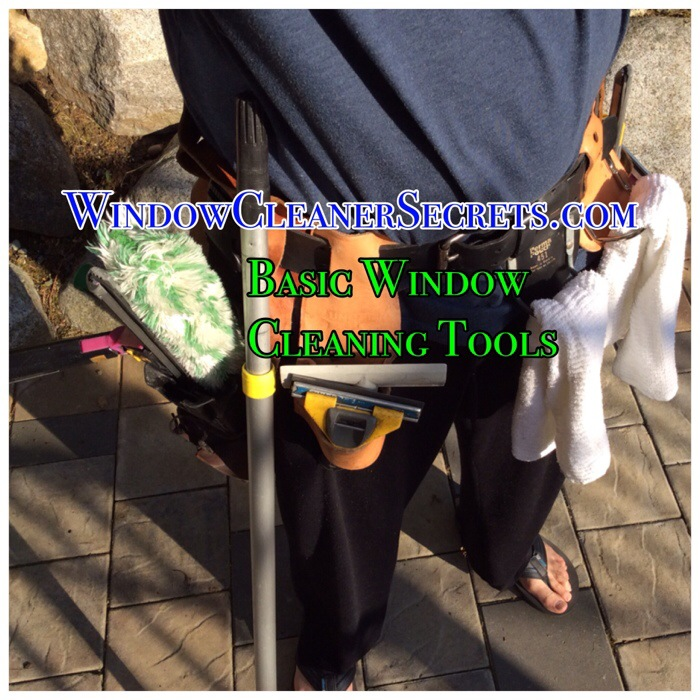 """Blog Series: """"Tools for a Window Cleaning Business"""" 1. Basic Tools"""