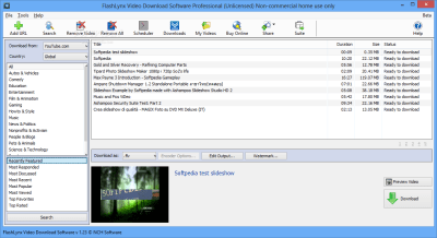 Download FlashLynx Video Download Software Professional 1.23 Beta
