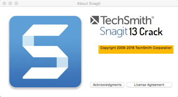 Techsmith SnagIt 13 Crack + Serial Keys Free Download