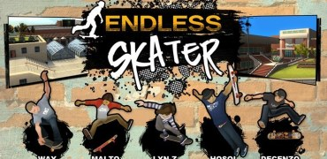 Endless Skater Windows 8 - Screenshot