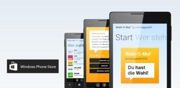 Wahl-O-Mat App für Windows Phone 8